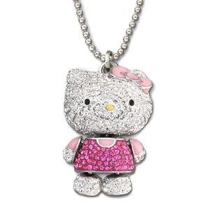 Swarovski Jewelry   Hello Kitty Pendant NIB